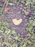 En forme de coeur Image libre de droits
