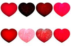En forme de coeur Photo stock