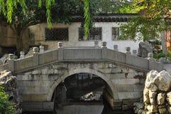 En forntida bro i Suzhou Shanghai Kina Royaltyfri Bild