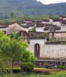 En forntida by i det Anhui landskapet, Kina arkivfoton