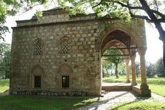 En forntida moské inom Nis Fortress, Serbien Arkivbilder