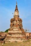 En forntida stupa Arkivbild