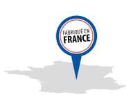 En França de Fabrique - feito em França Imagens de Stock Royalty Free