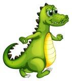 En gå krokodil stock illustrationer