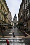 En gå till Budapest Arkivfoto