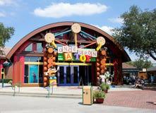 En gång på en leksak, i stadens centrum Disney, Orlando, Florida Arkivbilder