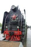 En gammal ångalokomotiv Royaltyfria Foton