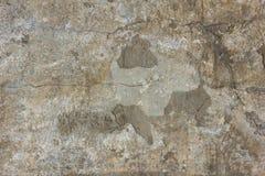 En gammal betongvägg arkivbilder