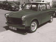 En gammal bil från 70 ` s Royaltyfri Bild