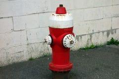 En gammal brandpost Arkivfoto