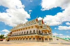En gammal buddistisk tempel Arkivbilder