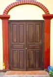 En gammal dörr Royaltyfri Fotografi
