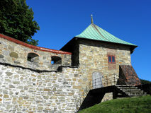 En gammal fästning Arkivbilder