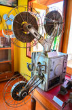 En gammal filmmaskin Arkivfoton