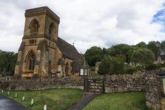 En gammal kyrka i England Fotografering för Bildbyråer