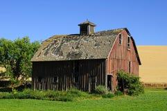 En gammal ladugård Royaltyfria Foton