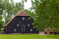 En gammal ladugård för bonde` s Royaltyfri Bild