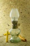 En gammal lampa. Royaltyfria Bilder