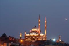 En gammal moské i cairo Arkivfoto