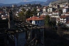 En gammal ottomanherrgård av Safranbolu, Karabuk royaltyfria foton