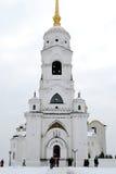 En gammal rysk ortodox kyrka Royaltyfri Fotografi