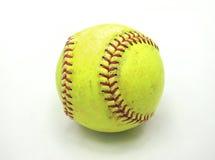 Gammal softball Arkivbild