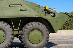 En gammal sovjetisk Armored gå i skaror-bärare Fotografering för Bildbyråer
