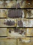 En gammal stenväggtextur/bakgrund Royaltyfri Foto