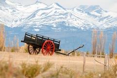 En gammal vagn Arkivbild