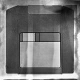 En gammal vinandeskiva Arkivbilder