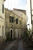 En gata i Sardinia, Italien Royaltyfri Fotografi