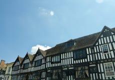 En gata i Stratford royaltyfri bild
