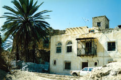 En gata i Taiz Royaltyfria Foton