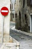 en gata långt Arkivbild