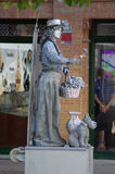 En gataskulptur 102 Arkivbild
