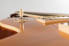 En gitarrströmbrytare arkivfoton