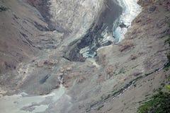 En glaciär som smälter i alaska Royaltyfri Fotografi