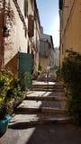 En gränd i Marseille Arkivfoton