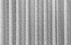 En grå gardin Royaltyfri Foto