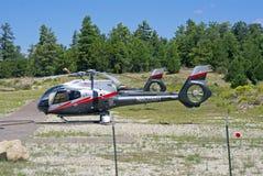 En Grand Canyon helikopter Arkivbild