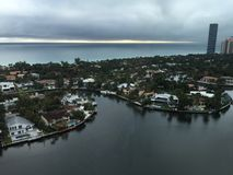 En Gray Day i Florida Royaltyfria Bilder
