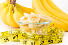 En grupp av bananer Fotografering för Bildbyråer