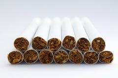 En grupp av cigaretter Arkivbilder
