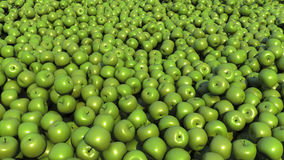 En grupp av äpplen Royaltyfria Bilder