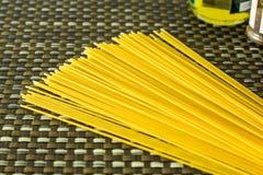 En grupp av pasta Arkivfoton