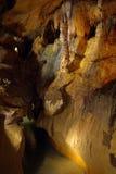 En gruta Foto de archivo libre de regalías