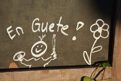 EN Guete/Bon Appetit Στοκ Φωτογραφία