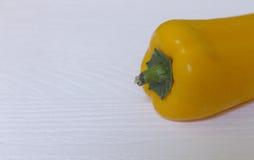 En gul peppar Royaltyfria Foton