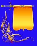en-guldvapen Royaltyfri Foto