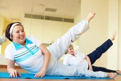 En gymnastique Photographie stock